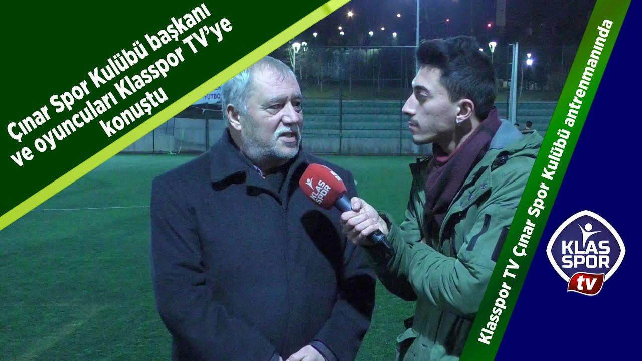 Çınar Spor Kulübü başkanı ve antrenörlerinden önemli açıklamalar Klasspor TV'de...