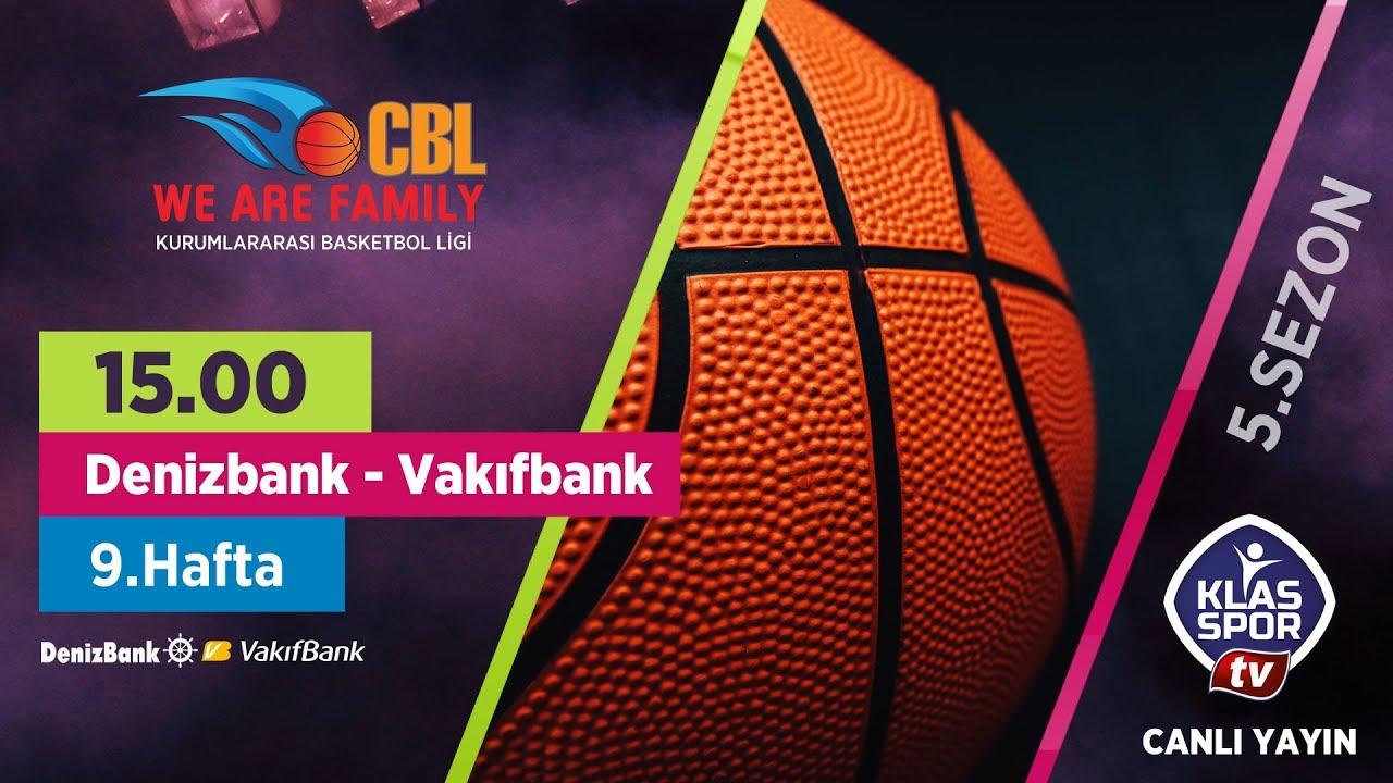 Denizbank - Vakıfbank (CBL Ankara 9. Hafta Maçları)