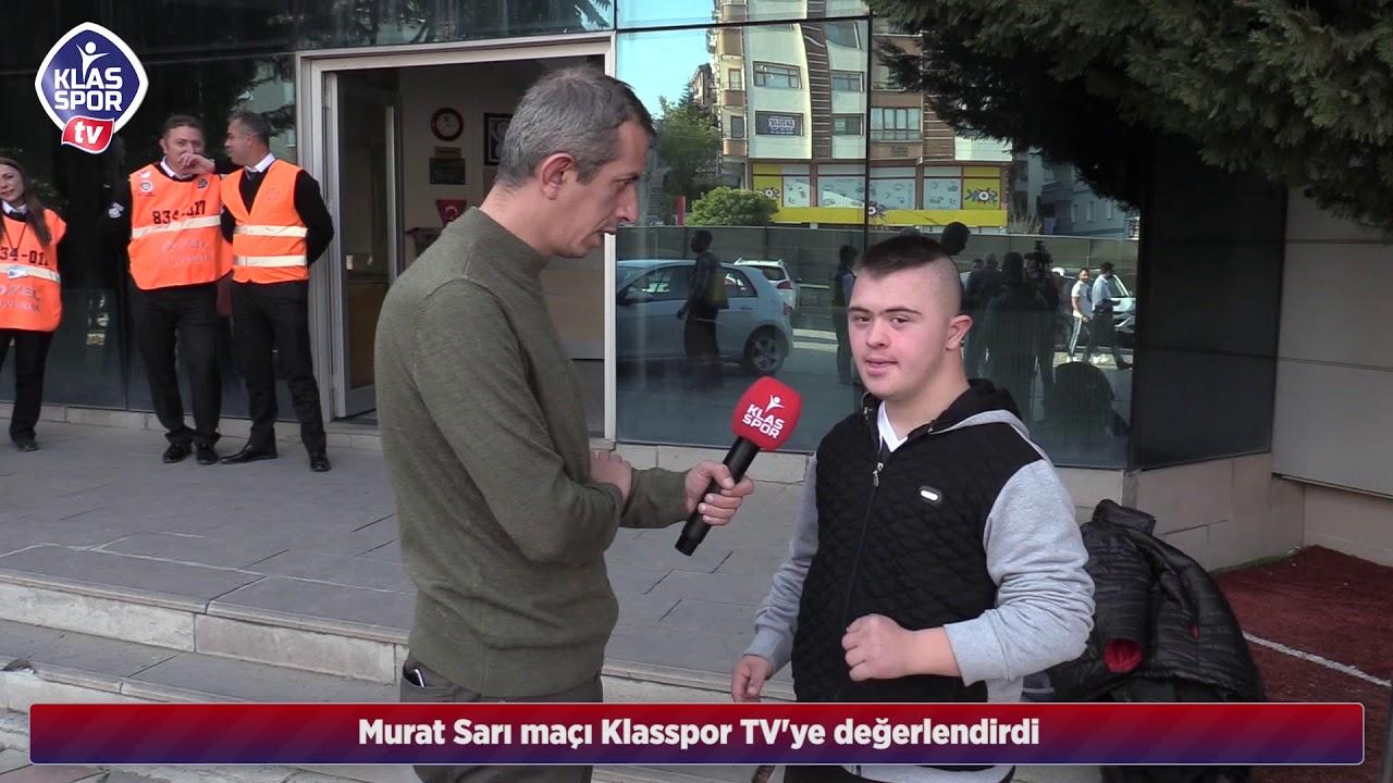 Etimesgut Belediyespor tribünlerinin sevilen ismi Murat Sarı Klasspor TV'ye önemli açıklamalar