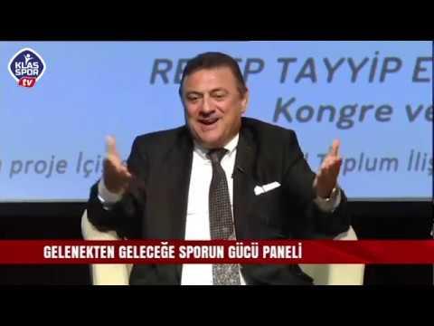 Hasan Kartal Gelenekten Geleceğe, Sporun Gücü adlı panelde konuştu