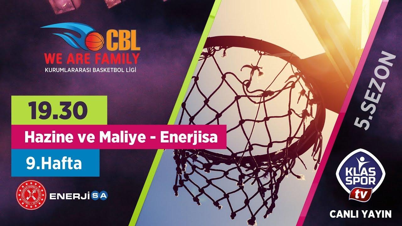 Hazine ve Maliye - Enerjisa (CBL Ankara 9. Hafta Maçları)