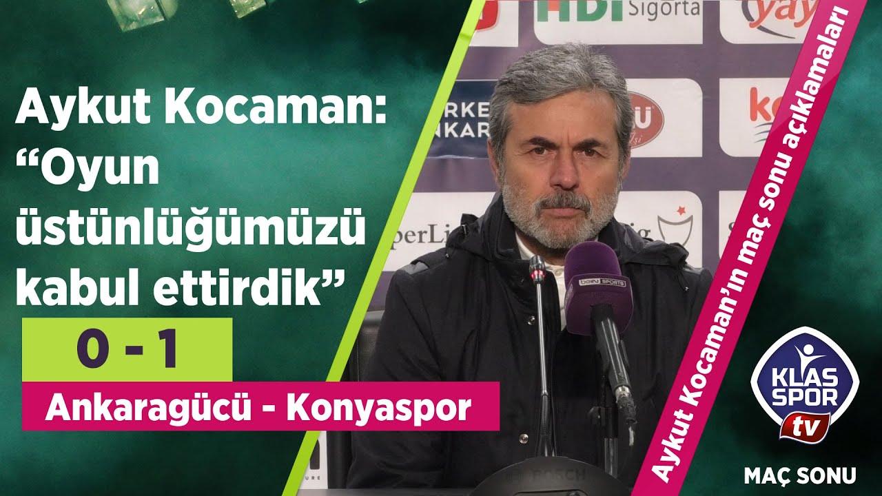 İttifak Holding Konyaspor, L. Shengelia'ın son dakika golü ile kazandı (Maç sonu açıklamalar)