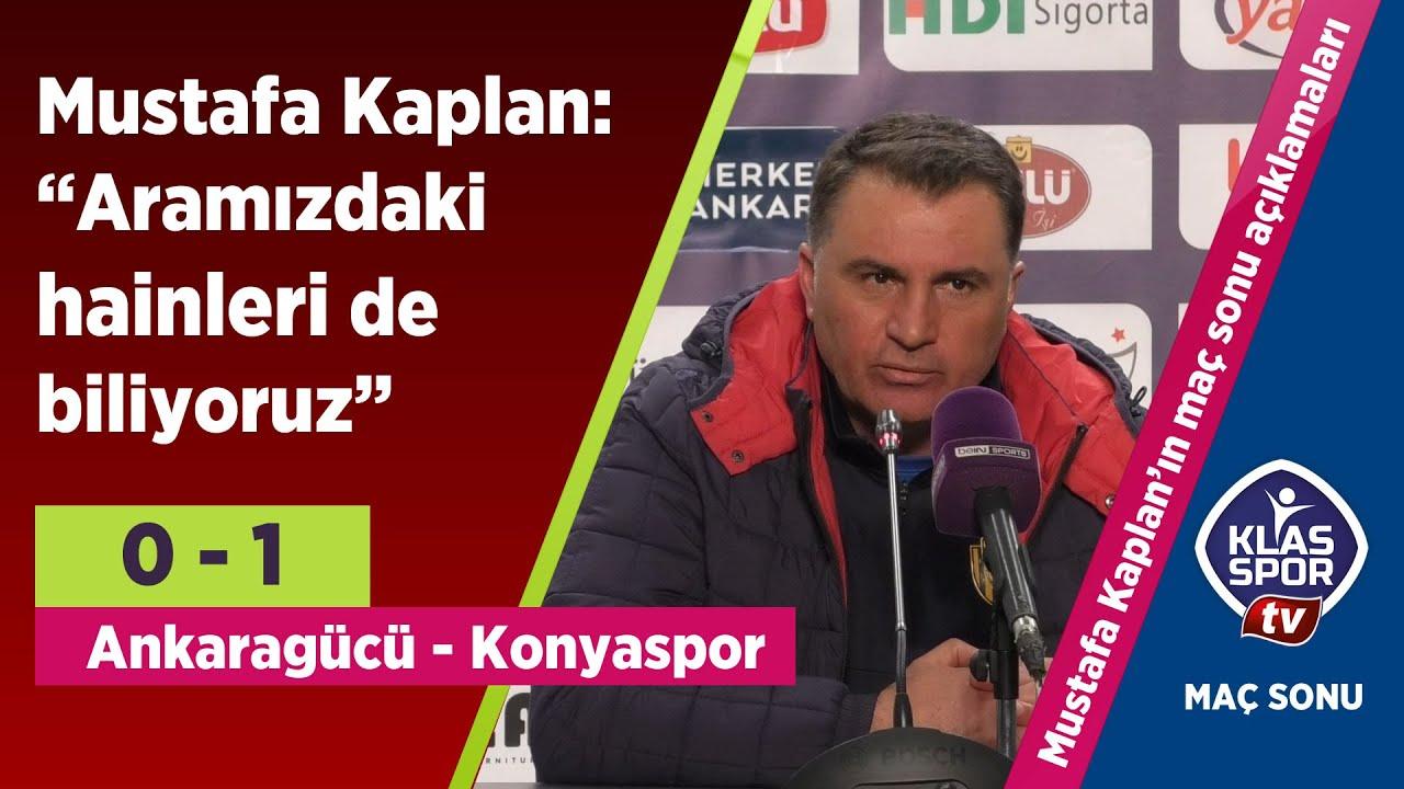 MKE Ankaragücü, ikinci yarıya mağlubiyetle başladı (Maç sonu açıklamalar)