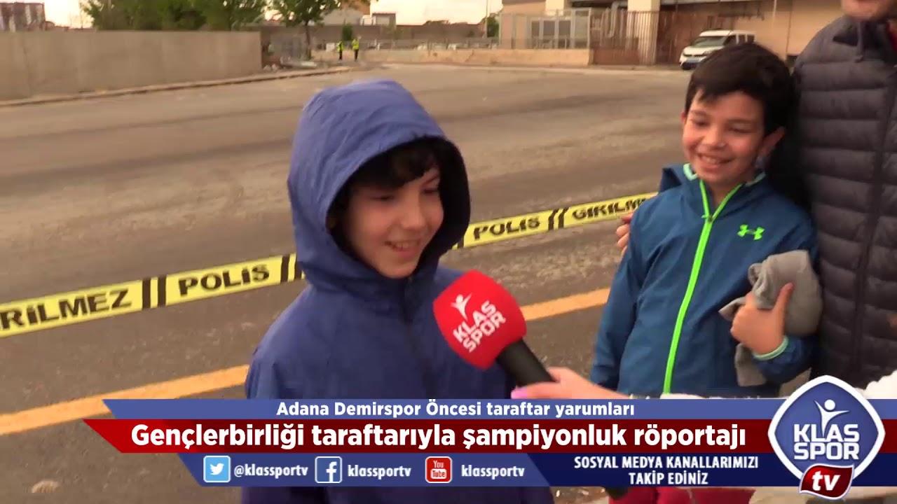 Adana Demirspor maçı öncesi Gençlerbirliği taraftarlarıyla röportajlar