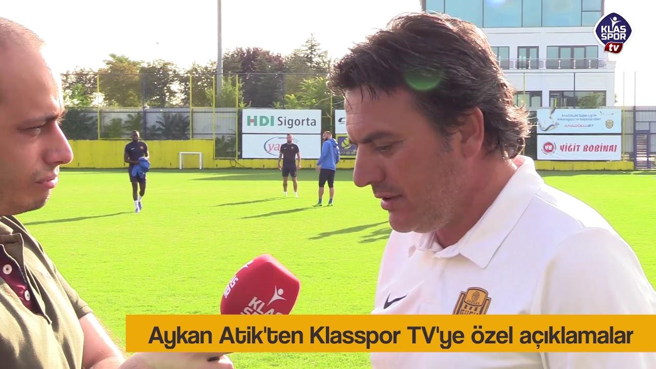 Aykan Atik'ten Klasspor'a özel açıklamalar