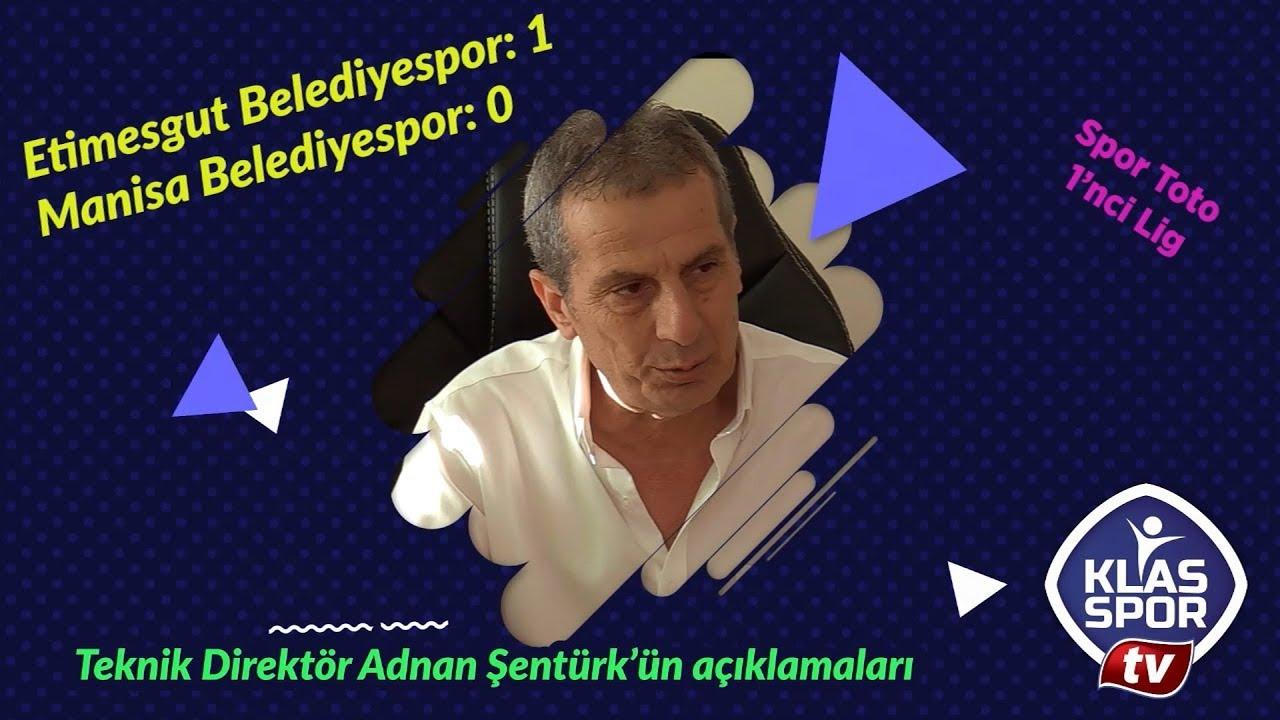 Etimesgut Belediyespor - Manisa BŞB maç sonrası Adnan Şentürk