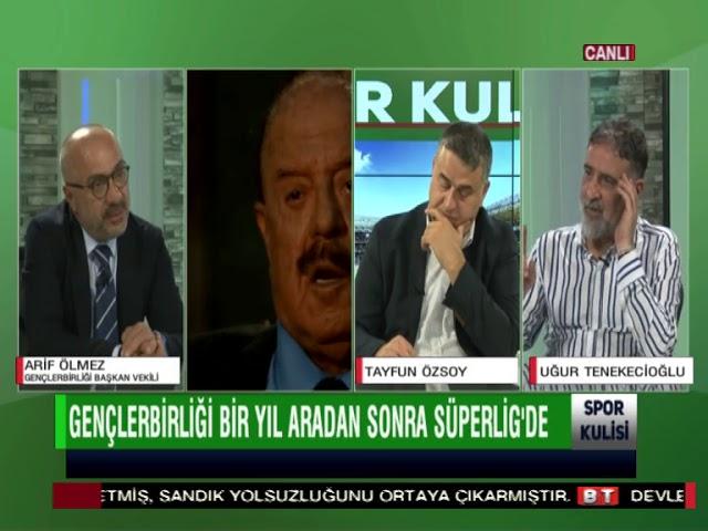 Gençlerbirliği başkanvekili Arif Ölmez, şampiyonluk sonrası Bengütürk TV'de konuştu...