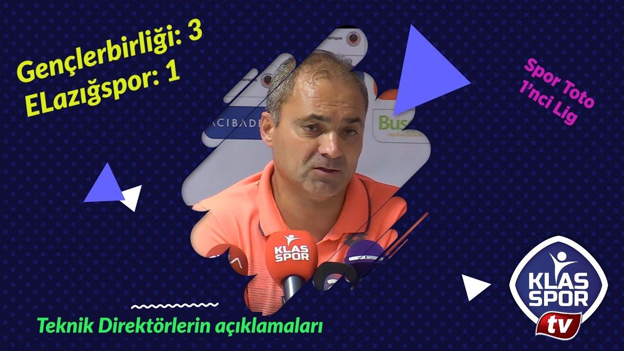 Gençlerbirliği - Elazığspor maç sonrası teknik direktörler