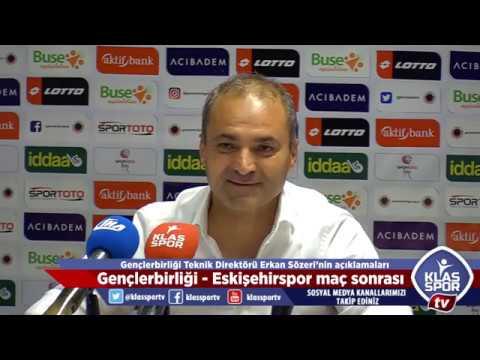 Gençlerbirliği - Eskişehirspor maçı sonrası teknik direktörler