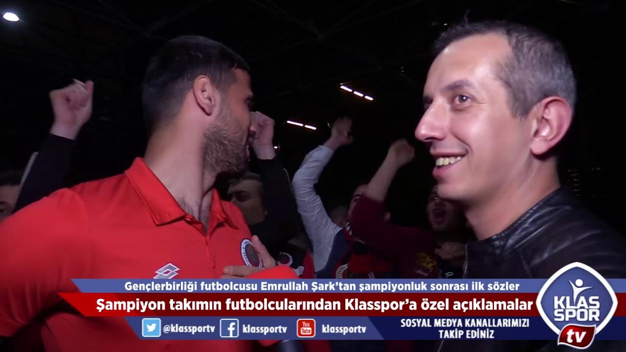 Gençlerbirliği futbolcularından şampiyonluk sonrası ilk açıklamalar