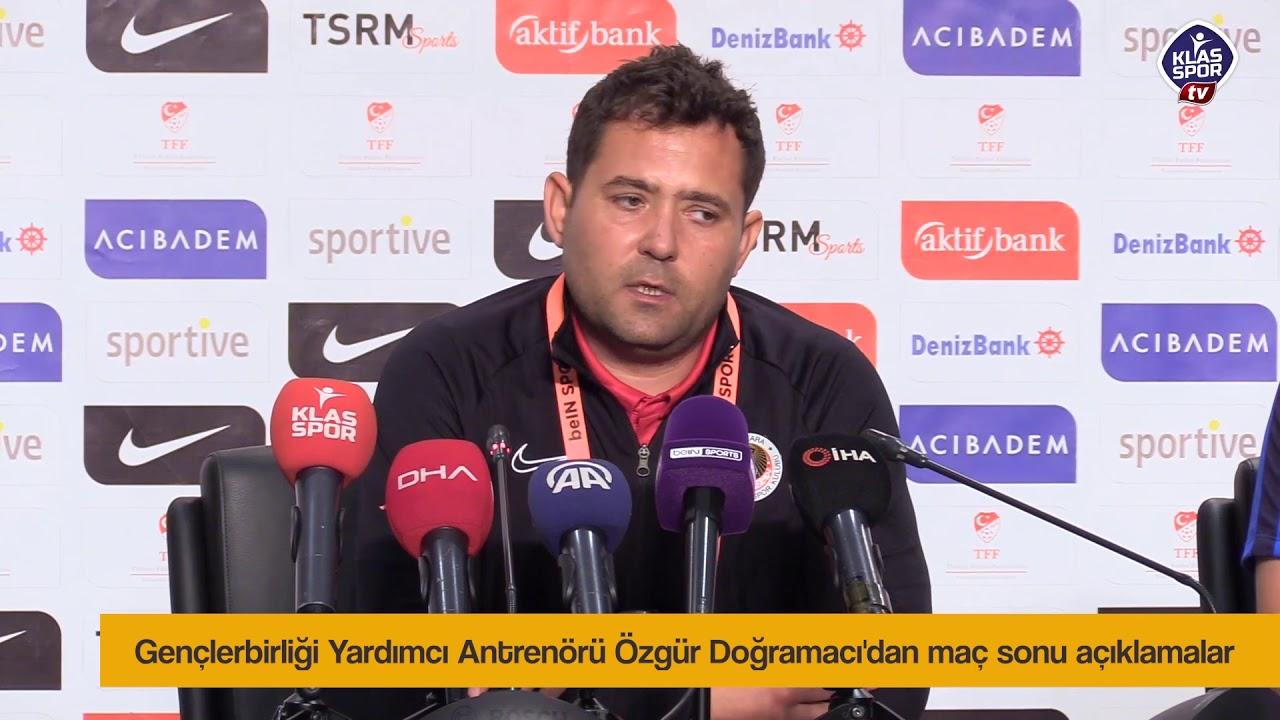 Özgür Doğramacı'dan maç sonu açıklamalar