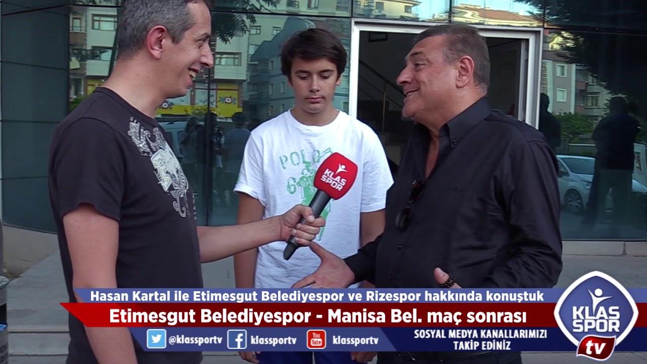 Rizespor'un yeni başkanı Hasan Kartal ilk açıklamasını Klasspor''a verdi.