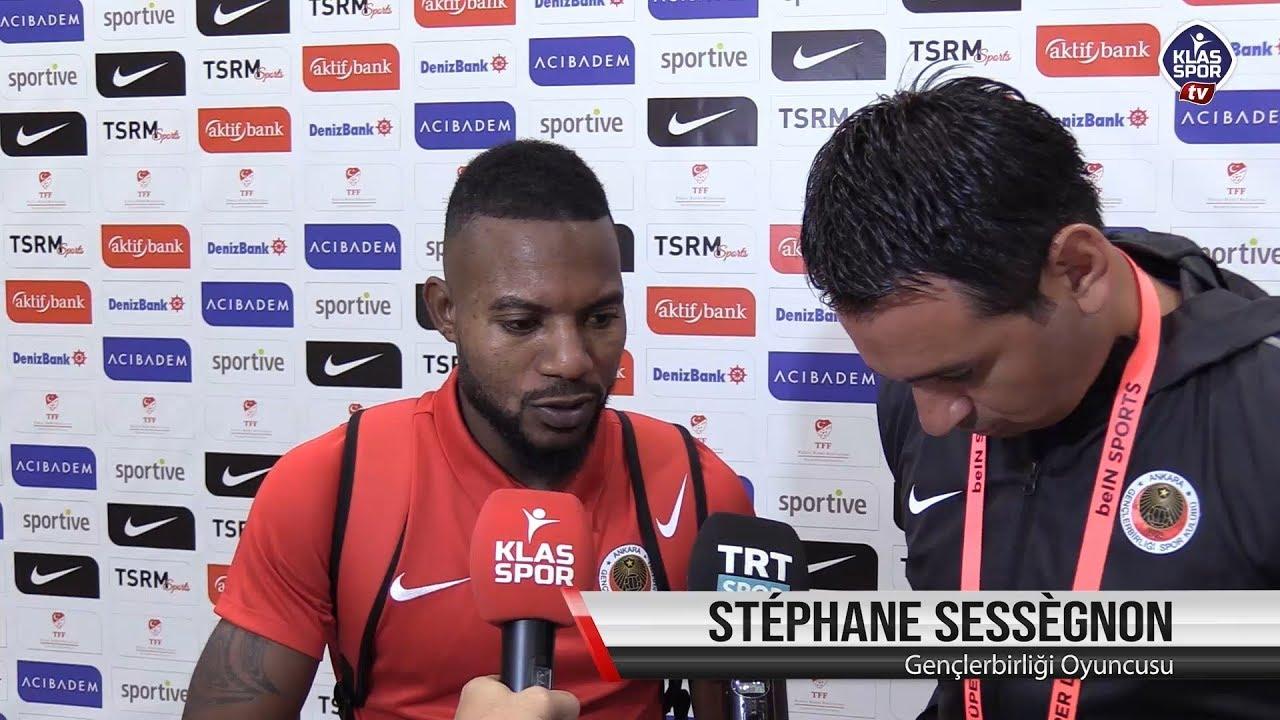 Stephane Sessegnon'un maç sonu değerlendirmesi